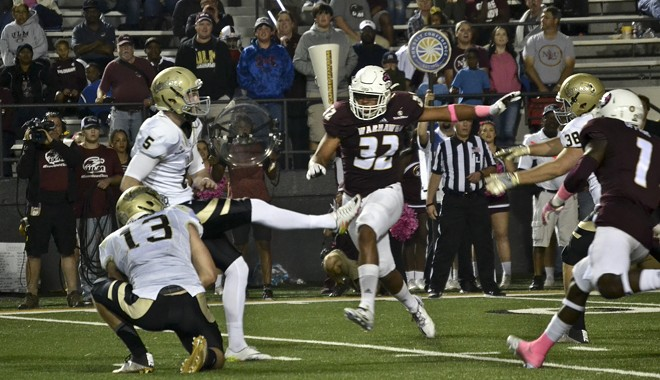 Idaho won Saturday on a last-second field goal. - UI ATHLETICS