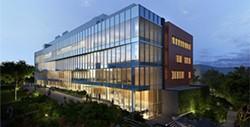 WSU Spokane's health sciences building on the Riverpoint campus - WSU-SPOKANE