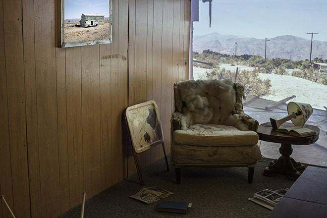 "A sample of Gautier-Downes' past work, this image is titled ""Trail's End."" - JULIE GAUTIER-DOWNES"