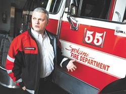 Assistant Fire Chief Brian Schaeffer - CHRISTIAN WILSON PHOTO