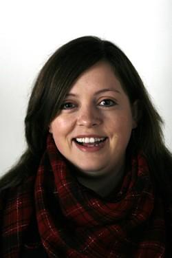 Spokane Arts' new Executive Director, Melissa Huggins. - MARSHALL PETERSON