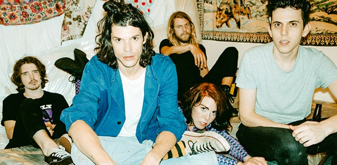 Grouplove headlines the Knit in April.