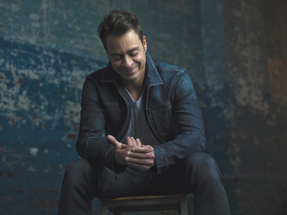 Singer-songwriter Amos Lee claims he can't ask for more. - MICHAEL LAVINE