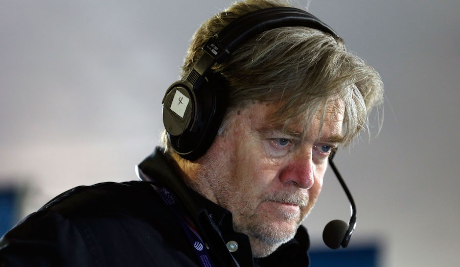 President-elect Trump's chief strategist is really popular among white supremacist groups.