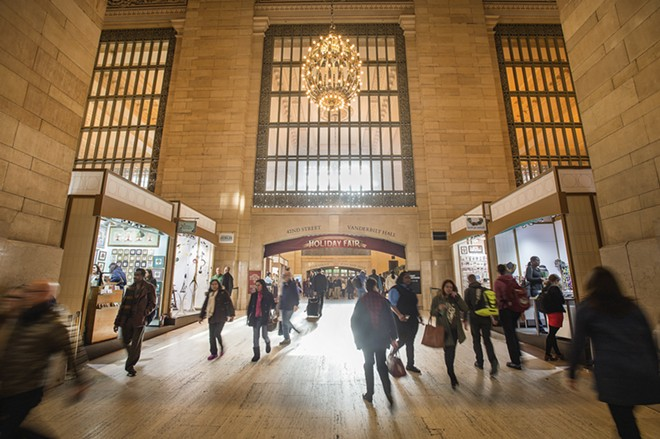 Shoppers in New York can visit the Grand Central Holiday Fair through Dec. 24. - PATRICK CASHIN