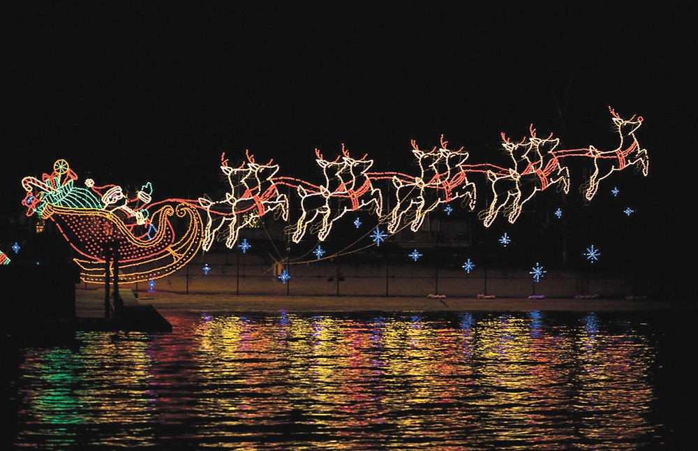 See the 30th annual holiday lights display in Coeur d'Alene.