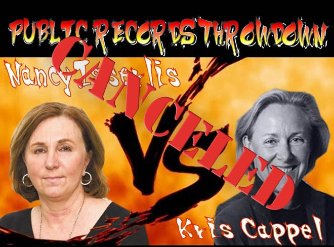 Like the other pieces of fallout from the independent investigation, the dueling records requests from independent investigator Kris Cappel and the lawyer for former City Attorney Nancy Isserlis have quietly gone away. - DANIEL WALTERS PHOTO ILLUSTRATION