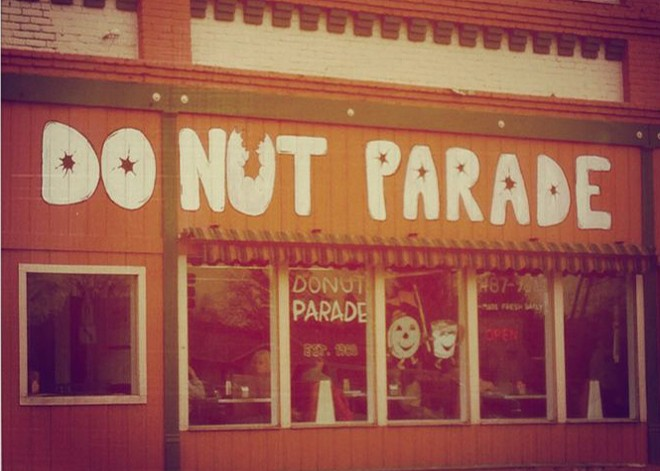 Donut Parade is closed for good.