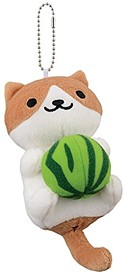 Cocoa and the rest of the Neko plush each come in different poses.