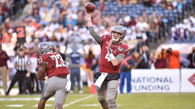 WSU lost the Holiday Bowl Tuesday night. - WSU ATHLETICS