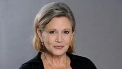 Actress Carrie Fisher died this week after a heart attack.