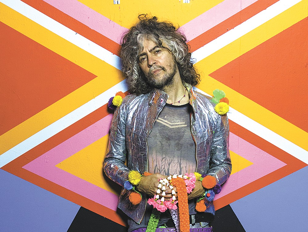 Wayne Coyne and his Flaming Lips would play well in Spokane. - GEORGE SALISBURY