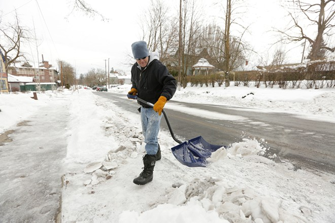 It's a snow day for Spokane schools, and many other districts in the region.