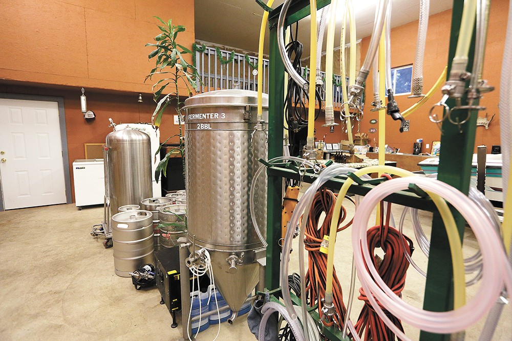 Whistle Punk Brewing will continue making beer at this Newman Lake location, but will soon have a taproom in downtown Spokane. - YOUNG KWAK