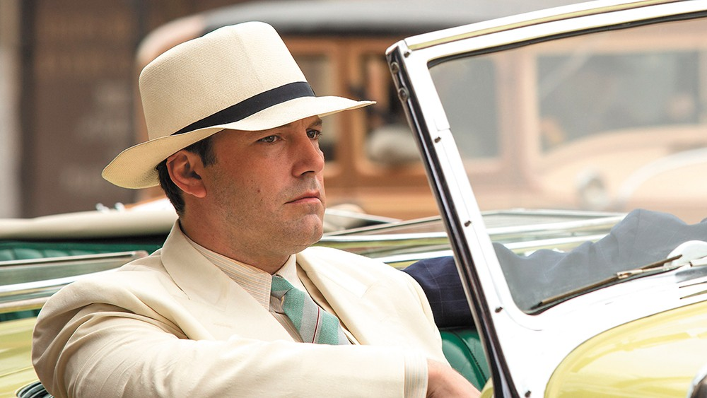 Live by Night is Affleck's fourth directing credit.