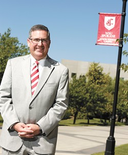 WSU President Kirk Schulz wants 18 percent of the study body to be international students within 20 years. - YOUNG KWAK
