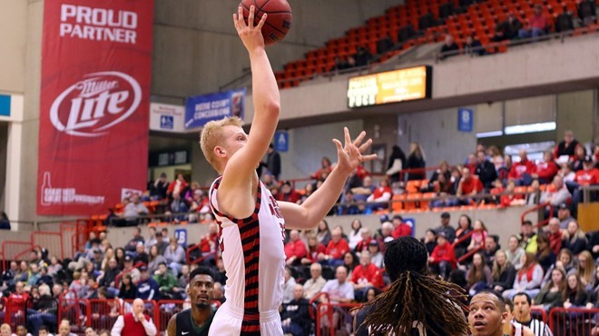 EWU's Bogdan Bliznyuk had 45 points on Saturday. - EWU ATHLETICS