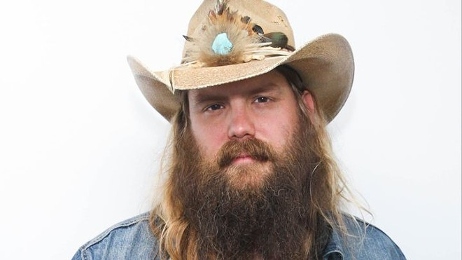 Traditional country hero Chris Stapleton is among this year's headliners for Watershed.