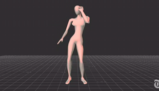 Do your moves match up? Researches mapped dancing women onto avatars which viewers rated, and found that big hip movements hit the mark. - THE NEW YORK TIMES