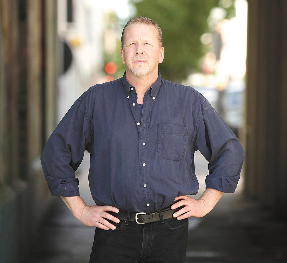 Local author Sam Ligon will be among those sharing true stories on Thursday at the first Pivot storytelling session.