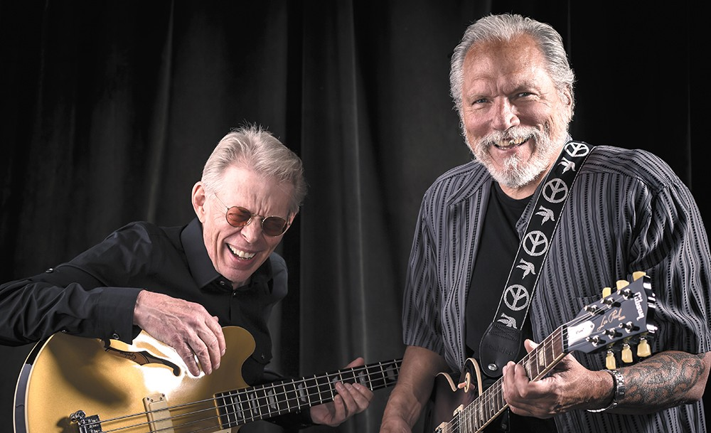 Jack Casady (left) and Jorma Kaukonen of Hot Tuna have been friends and bandmates for nearly five decades. - BERRY BERENSON PHOTO