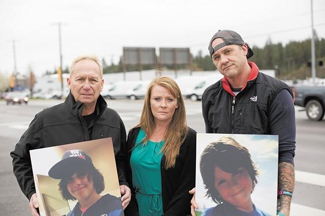 Ryan Holyk's family