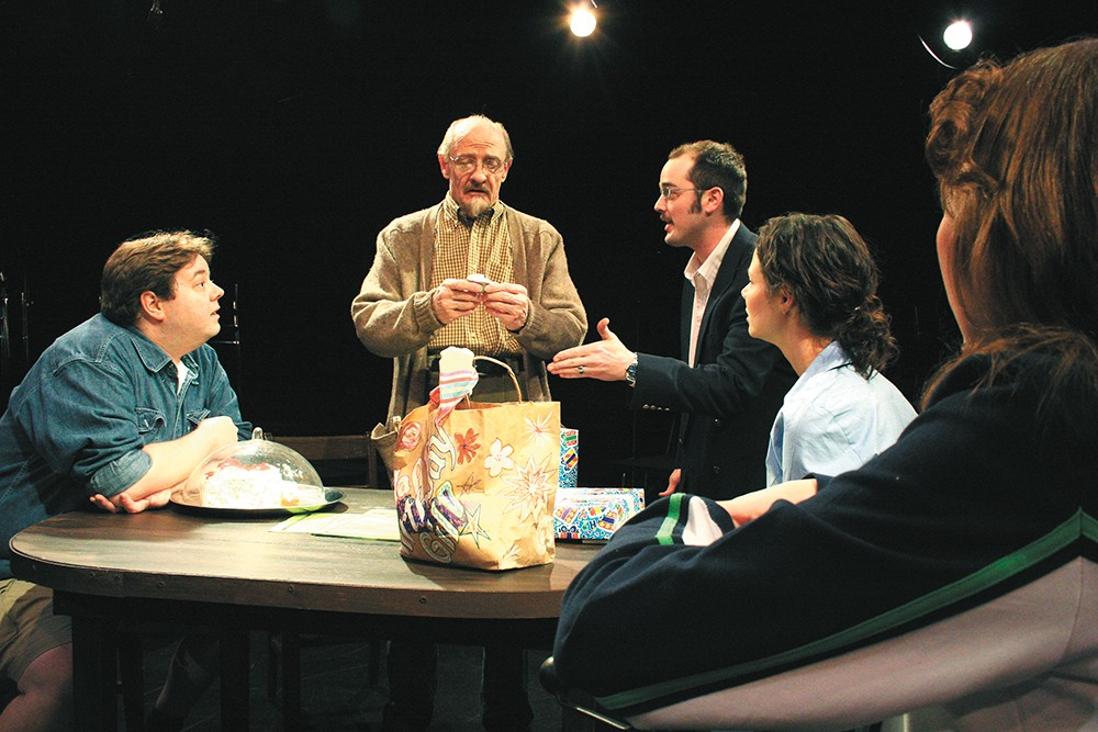 Holding On - Letting Go — part of a trilogy by playwright Bryan Harnetiaux — tackles the issue of death like Dusk (pictured) did.