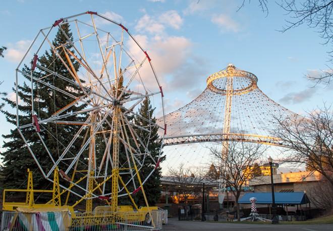 All hail the Rusty Ferris Wheel! - DANIEL WALTERS PHOTO