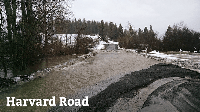This was a road, once - COURTESY OF SPOKANE COUNTY