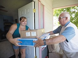 During the heat wave a few years go, Meals on Wheels brought air conditioners to overheated families.