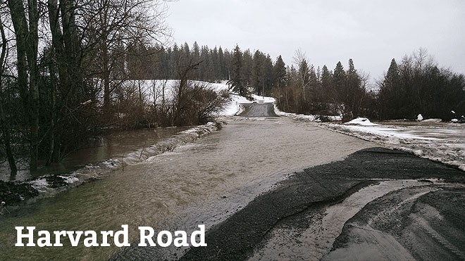 Spokane County's road budget is is being decimated by spring flooding.