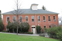 SFCC classes will move to this WSU building. - COURTESY OF CCS