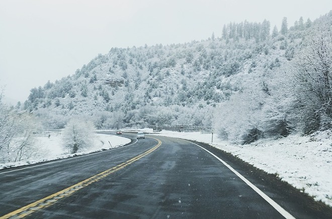 The road to Phoenix is paved with some ice and snow. - TUCK CLARRY