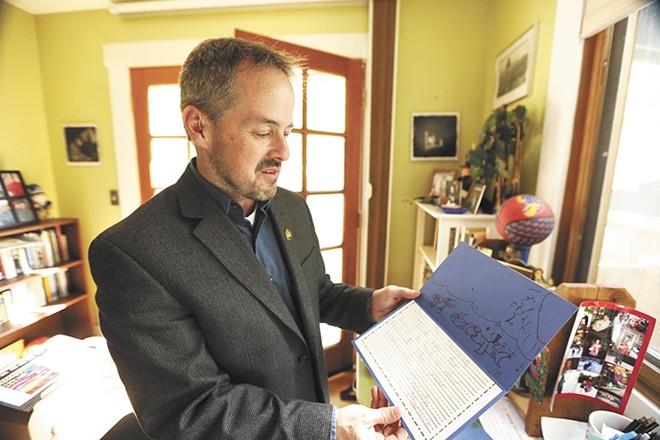 Washington poet laureate Tod Marshall - YOUNG KWAK