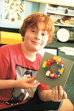 LEGOs offer myriad educational opportunitiies during camps at St. George's School.