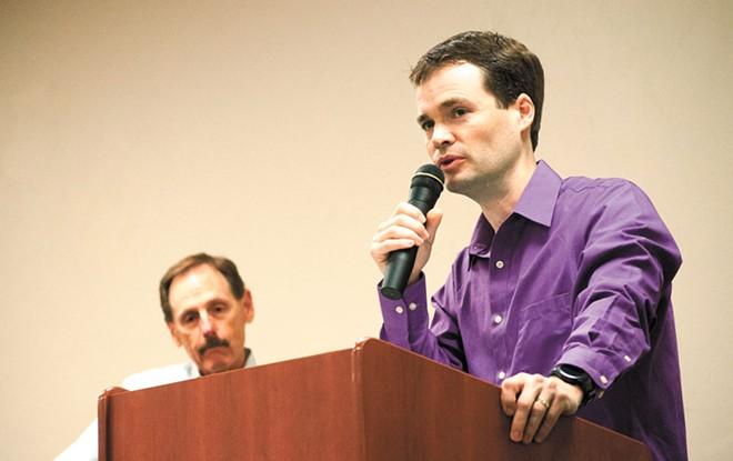 Spokane County Democrats Chair Andrew Biviano
