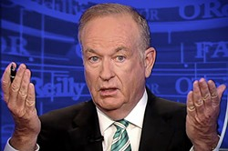 Bill O'Reilly: Out at Fox News.