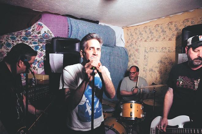 Kevin Cameron (center) fronts Big Yuck Mouth. - KRISTEN BLACK