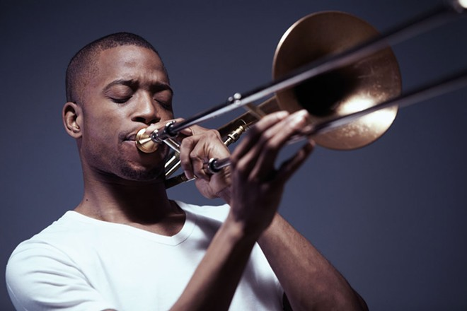 Trombone Shorty and his band Orleans Avenue are dropping by The Fox in August.