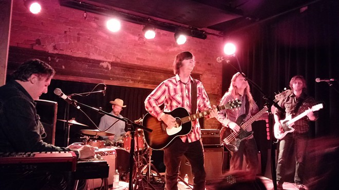 Son Volt headlined a sold-out show at the Bartlett on Sunday night. - DAN NAILEN
