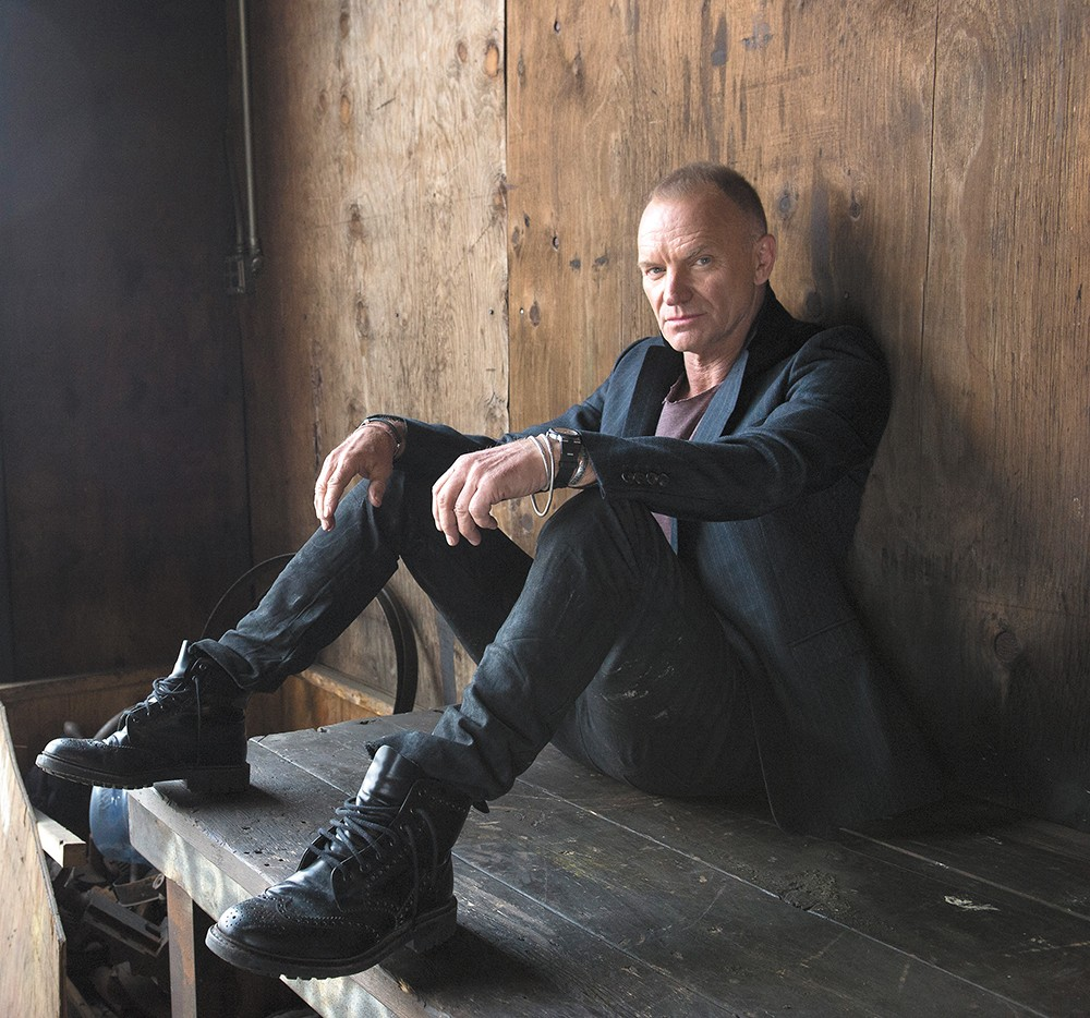 Sting and jazz? It's not as weird a pairing as you might think. - FRANK OCKENFELS