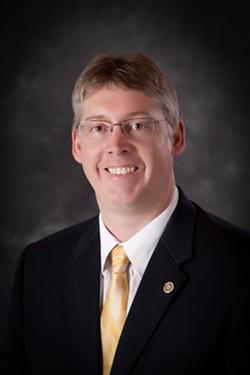 Darren Pitcher will take over for Gullickson for the next year as acting president. - COURTESY OF SFCC