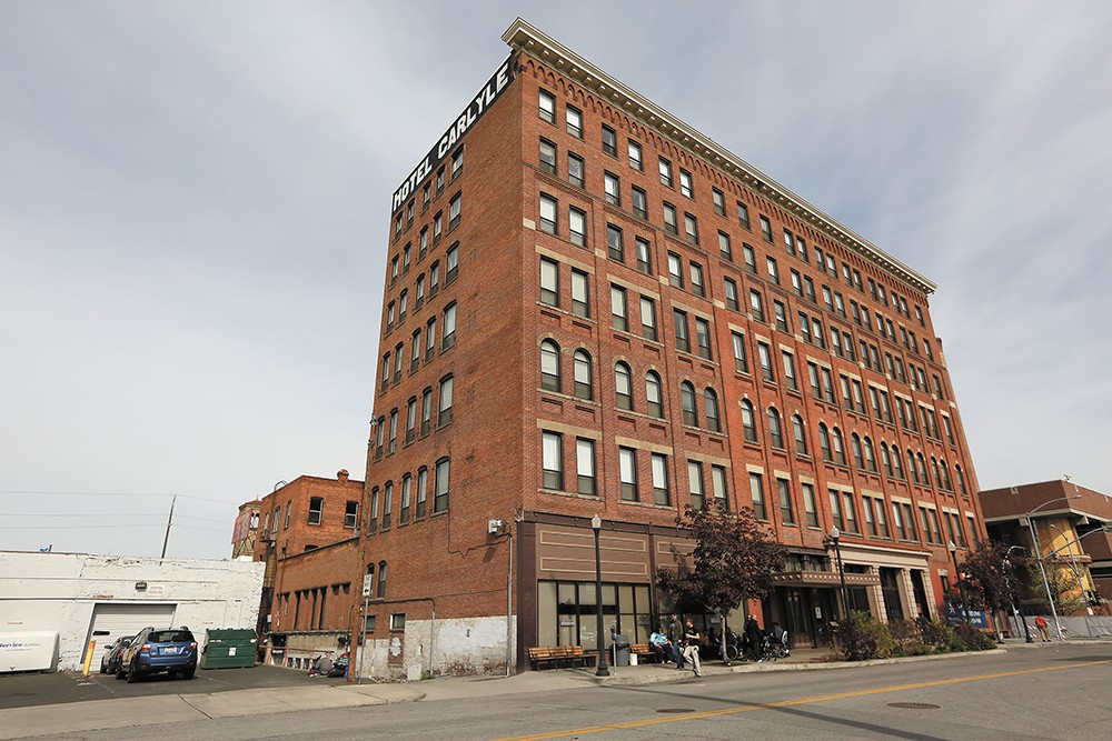 The Carlyle Care Center in downtown Spokane. - YOUNG KWAK