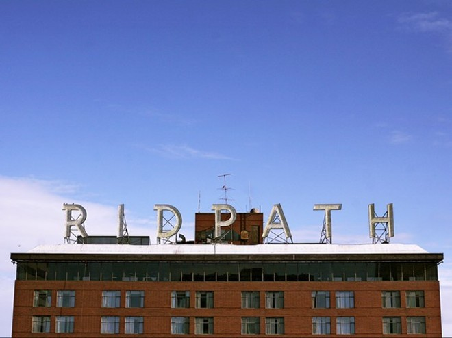 Ron Wells' longstanding plan to turn the Ridpath Hotel into an apartment complex isn't out of the woods yet. - YOUNG KWAK PHOTO