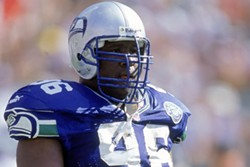 Cortez Kennedy spent  his entire 11-year NFL career with the Seahawks; he was inducted into the Pro Football Hall of Fame in 2012.