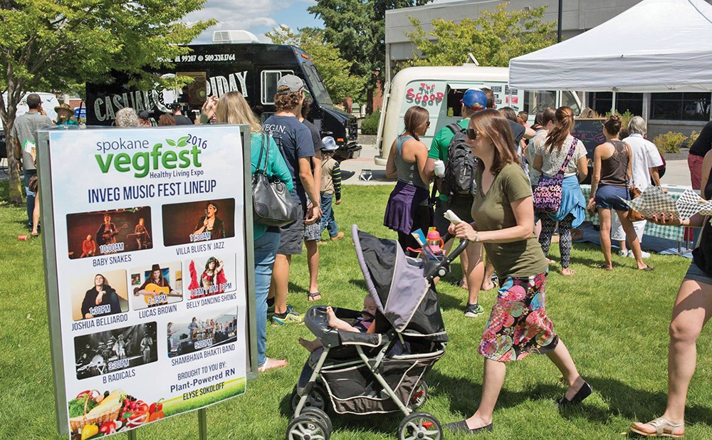 Spokane Vegfest returns in July.