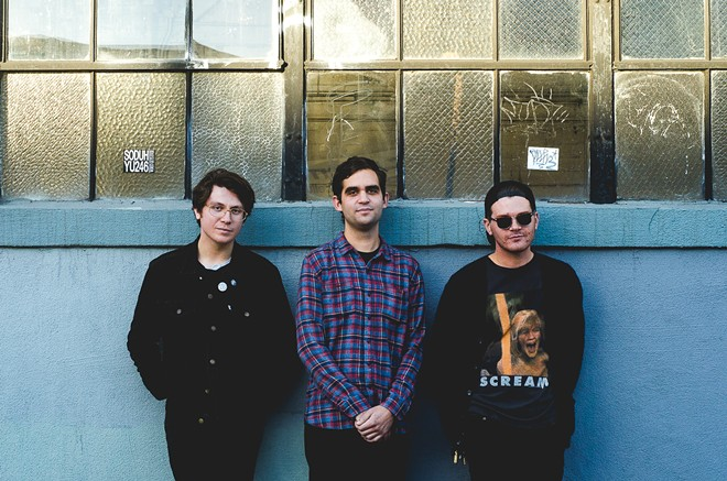 Oakland trio Mall Walk kick off the Volume Music Festival on Thursday night with a free show at the Observatory.