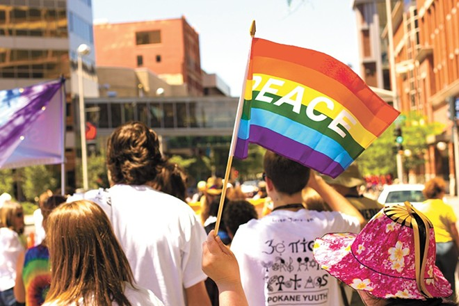 The Spokane Pride Parade and Festival is on Saturday.
