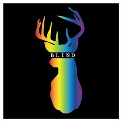 Ever seen a buck in all the colors of the rainbow? No? Well, you have now.