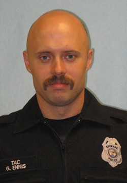 Sgt. Gordon Ennis: Mistrial declared in the rape case against the former Spokane cop.